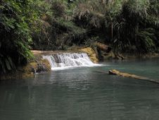 Free Waterfall In Laos Royalty Free Stock Images - 9886259