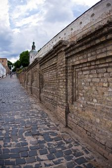 Free Wall Of Kiev Lavra, Ukraine Stock Image - 9886411