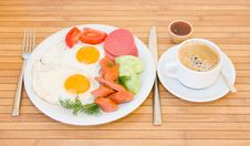 Free Served Breakfast Royalty Free Stock Photo - 9886445
