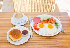 Free Served Breakfast Stock Photo - 9886470