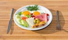 Free Served Breakfast Royalty Free Stock Image - 9886996