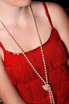 Free Beautiful Pearls Stock Photography - 9887112