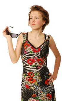 Free Summer Sundress Royalty Free Stock Photos - 9887238