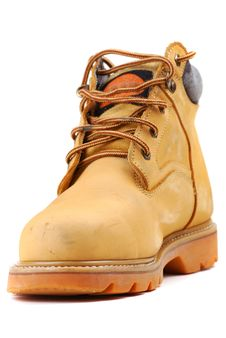 Free Yellow Boots Royalty Free Stock Image - 9887846