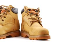 Free Yellow Boots Stock Photography - 9887912