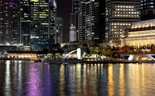 Free SINGAPORE NIGHT 12 Stock Photography - 9888542