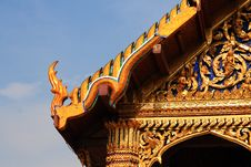 Free Buddhistic Temple Royalty Free Stock Image - 9889036