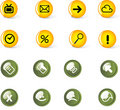 Free Vector Icon Set Royalty Free Stock Photos - 9892568