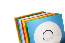 Free Disc Sleeves Royalty Free Stock Photo - 9890495