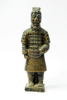 Free Terracotta Warriors And Horses Royalty Free Stock Images - 9890579