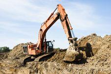 Free Excavator Stock Photos - 9891303