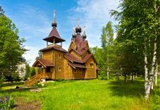 Free Wooden Church Royalty Free Stock Photography - 9891857