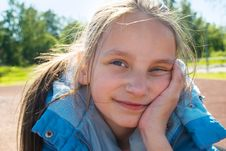 Free Young Girl Dreaming Stock Photos - 9891983