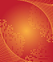 Free Red Abstract Background Royalty Free Stock Photos - 9892718