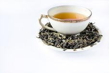 Free Green Tea Royalty Free Stock Images - 9892749
