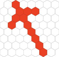 Free Hexagonal  3d Pattern 03 Royalty Free Stock Images - 9893009