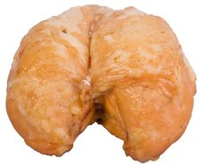 Smoked Chicken Breast Royalty Free Stock Photos