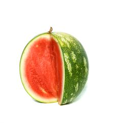 Seedless Watermelon Royalty Free Stock Images