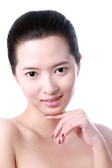 Free Asian Young Woman Royalty Free Stock Image - 9894016