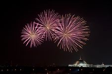 Free Fireworks Over Moscow Royalty Free Stock Photo - 9894295