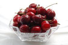 Free Freshly Picked Cherries Royalty Free Stock Photos - 9894758