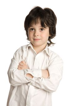Free The Close-up Portrait Of Little Boy Royalty Free Stock Photos - 9895188