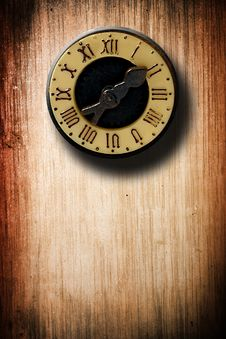 Free Old Clock Royalty Free Stock Photo - 9895655