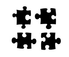 Free Puzzle. Royalty Free Stock Images - 9896079