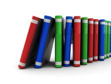Free Books Stack Stock Image - 9896561