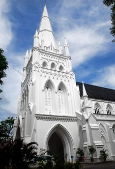 Singapore: St. Andrew S Cathedral Stock Photos