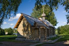 Free Wooden Church Stock Image - 9897001