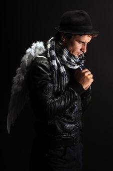 Fallen Angel Stock Images