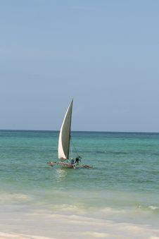 Free Dhow In Zanzibar Stock Image - 9897541