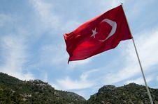 Free Turkish Flag Stock Image - 9897901