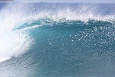 Free Blue Wave Stock Photography - 9898342
