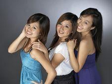 Free Three Girlfriends Stock Photo - 9899100