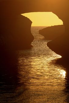 Free S Archittu Sunset Stock Images - 9899664