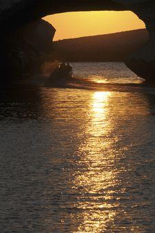 Free S Archittu Sunset Stock Image - 9899701