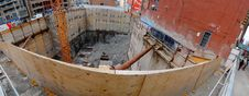 Free Panorama Of The Excavation At Victoria And Richmond, 2017 08 22 -e Royalty Free Stock Photos - 98960788