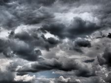 Free Sky, Cloud, Black And White, Atmosphere Royalty Free Stock Photography - 98988877