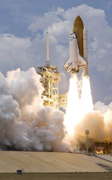 Free Space Shuttle, Rocket, Missile, Sky Stock Photography - 98993172