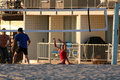Free Playing Volleyball Royalty Free Stock Photography - 990777