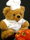 Free Teddy Bear Got Tomatoes Stock Photography - 993302