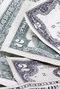 Free Two Dollar Bills - Vertical Royalty Free Stock Photo - 997045