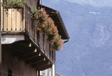 Free Alpine Flowered Balcony Stock Images - 990344