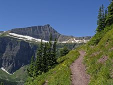 Free The Triple Divide Pass Trail Stock Images - 991124