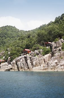 Free Koh Tao Coastline 01 Royalty Free Stock Photo - 991265