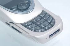 Free Slide Silver Cell/mobile Phone Stock Image - 991631