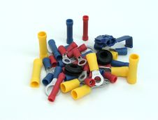 Free Colorful Crimp Ends Stock Image - 991911