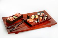 Free Sushi Platter Royalty Free Stock Photography - 991957